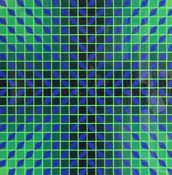 Jindey Limited Edition Print by Victor Vasarely