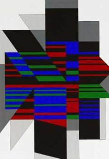 Attika 1990 Limited Edition Print by Victor Vasarely