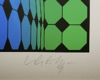 Raura 1989 Limited Edition Print by Victor Vasarely - 2