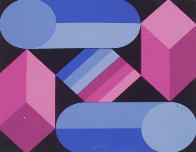 Stri Dio 1988 Limited Edition Print by Victor Vasarely - 0