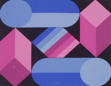 Stri Dio 1988 Limited Edition Print by Victor Vasarely