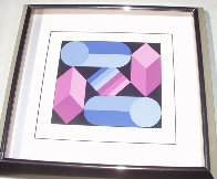 Stri Dio 1988 Limited Edition Print by Victor Vasarely - 1