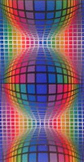 Sinfel 1978 Limited Edition Print by Victor Vasarely