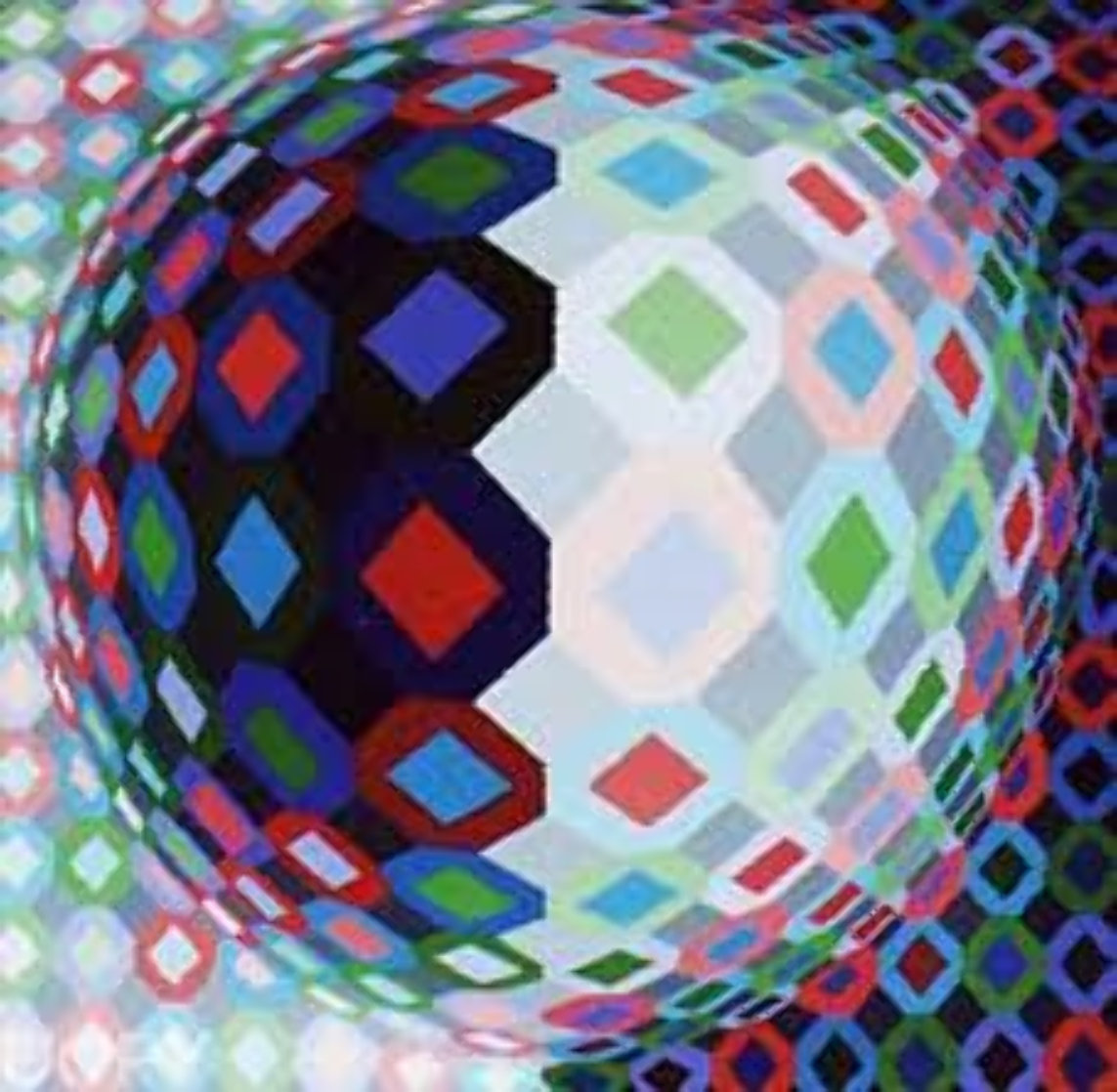 Lator Limited Edition Print by Victor Vasarely