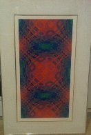 Untitled 1970 Limited Edition Print by Victor Vasarely - 2