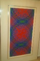 Untitled 1970 Limited Edition Print by Victor Vasarely - 1