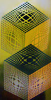 Vegas Kocka Limited Edition Print by Victor Vasarely - 0