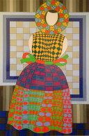 Fille Femme 1982 Limited Edition Print by Victor Vasarely - 0