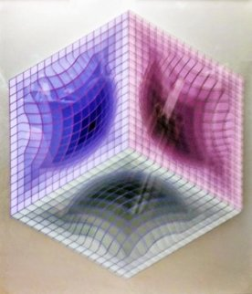 Tri-Dos 1987 Limited Edition Print by Victor Vasarely