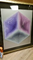 Tri-Dos 1987 Limited Edition Print by Victor Vasarely - 1