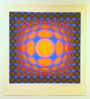 Tri-vega 1975 Limited Edition Print by Victor Vasarely - 1