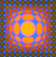Tri-vega 1975 Limited Edition Print by Victor Vasarely - 0