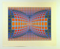 Papillon 1981 Limited Edition Print by Victor Vasarely - 1