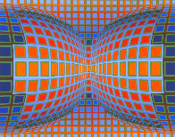 Papillon 1981 Limited Edition Print by Victor Vasarely - 0