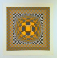 Zeng 1975 Limited Edition Print by Victor Vasarely - 1