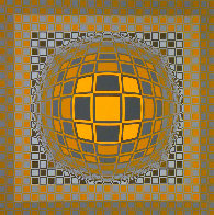 Zeng 1975 Limited Edition Print by Victor Vasarely - 0