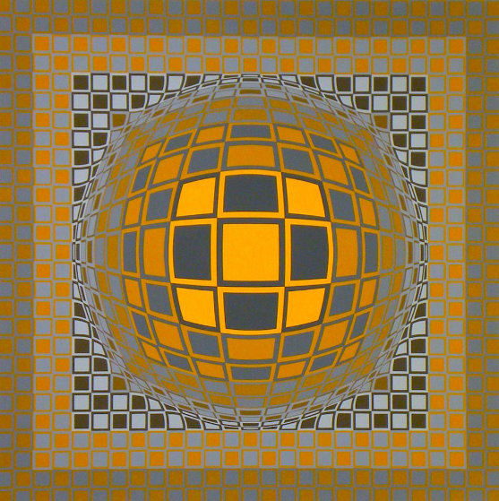 Zeng 1975 Limited Edition Print by Victor Vasarely