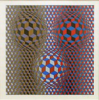 Nebulus II 1980 Limited Edition Print by Victor Vasarely - 1