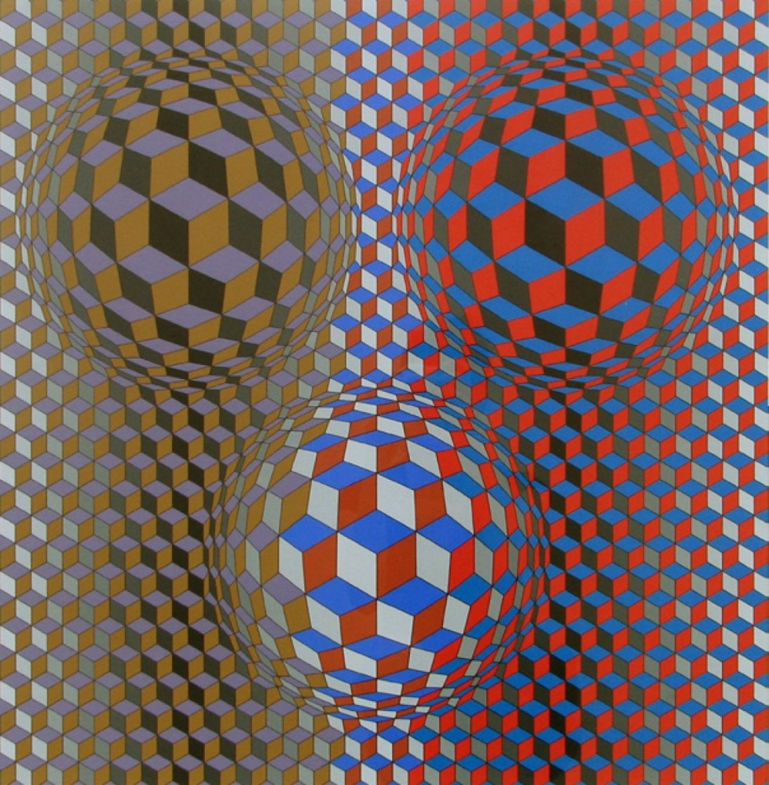 Nebulus II 1980 Limited Edition Print by Victor Vasarely