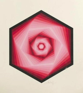 Radau 1986 Limited Edition Print - Victor Vasarely