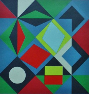 Sikra-Mc  1968 Limited Edition Print - Victor Vasarely