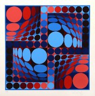 Thez II 1980 Limited Edition Print by Victor Vasarely - 1