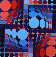 Thez II 1980 Limited Edition Print by Victor Vasarely - 0