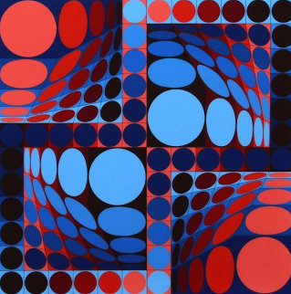 Thez II 1980 Limited Edition Print by Victor Vasarely