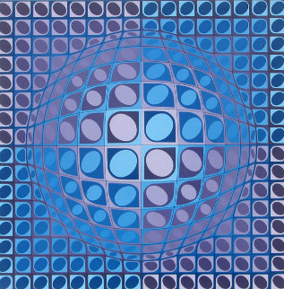 Vega 1980 Limited Edition Print - Victor Vasarely