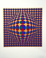 Neptune, From Eight Impressions 1970 Limited Edition Print by Victor Vasarely - 1
