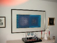 Untitled Serigraph 1993 Limited Edition Print by Victor Vasarely - 2