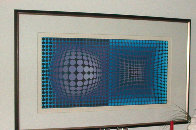 Untitled Serigraph 1993 Limited Edition Print by Victor Vasarely - 1