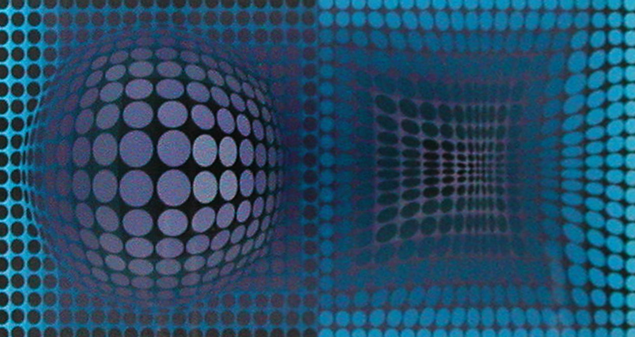 Untitled Serigraph 1993 Limited Edition Print by Victor Vasarely
