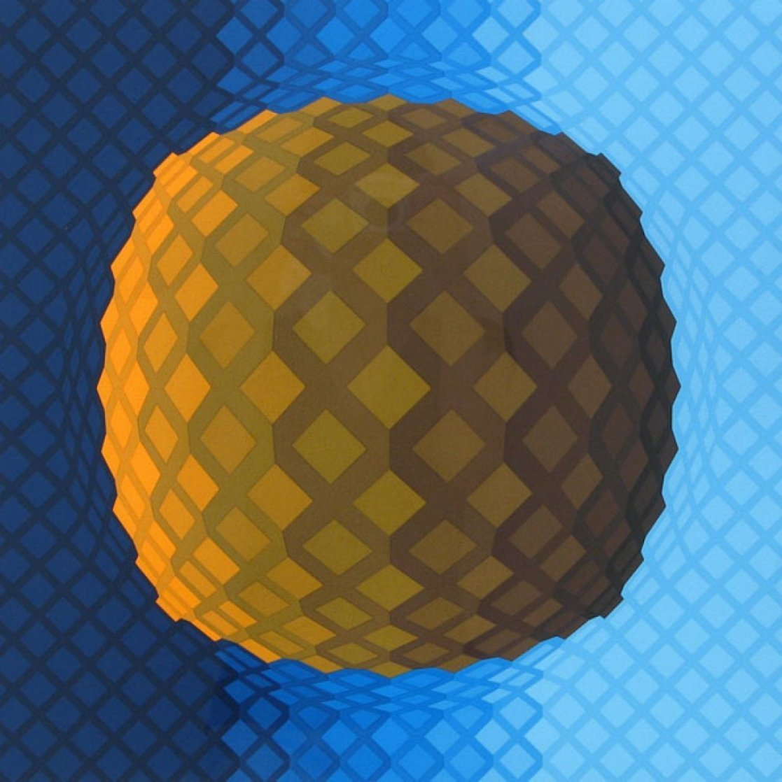 Koskota 1976 Limited Edition Print by Victor Vasarely