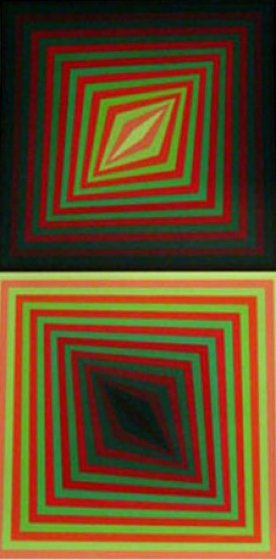 Usteok 1975 Limited Edition Print by Victor Vasarely