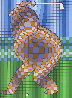 Golfer Limited Edition Print by Victor Vasarely - 0