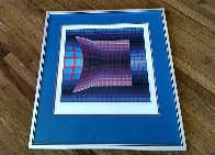 Optical Cube 1975 Limited Edition Print by Victor Vasarely - 2
