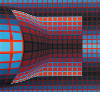 Optical Cube 1975 Limited Edition Print by Victor Vasarely - 0