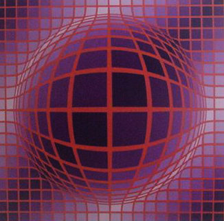 Tsiga III 1991 Limited Edition Print by Victor Vasarely