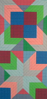 Door 1982 Limited Edition Print - Victor Vasarely