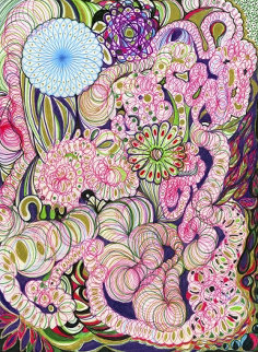 Set of Four Prints: Pandora 1 and 2, and Filament 1 and 2 2014 Limited Edition Print - Joana Vasconcelos