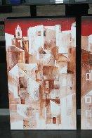 Lisbon Triptych 2004 Super Huge Original Painting by Valeriy Vaskov - 3