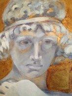 Angel DI Capri 2011 28x38 Original Painting by Margaret Vega - 2