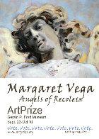 Angel DI Capri 2011 28x38 Original Painting by Margaret Vega - 5