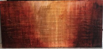 Untitled Painting  2005  25x53 (Early) Super Huge Original Painting - James Verbicky