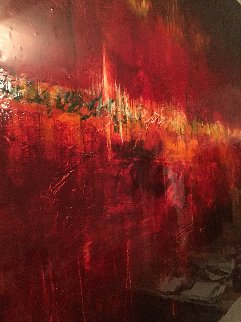Momentum I 50x50 Original Painting - James Verbicky
