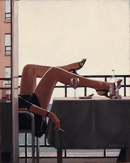 Temptress 2008  Limited Edition Print by Jack Vettriano