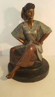 Marcella Bronze Sculpture 1989 19 in Sculpture by Victor Gutierrez