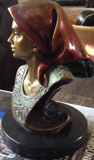 Untitled Bronze Sculpture 1993 Sculpture by Victor Gutierrez