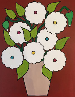 Still Life Nr 1 2010 20x16 Original Painting - Viorel Iarca